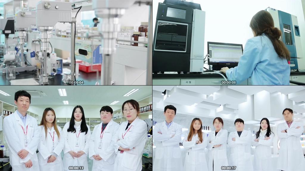 化妆品公司实验室视频素材下载