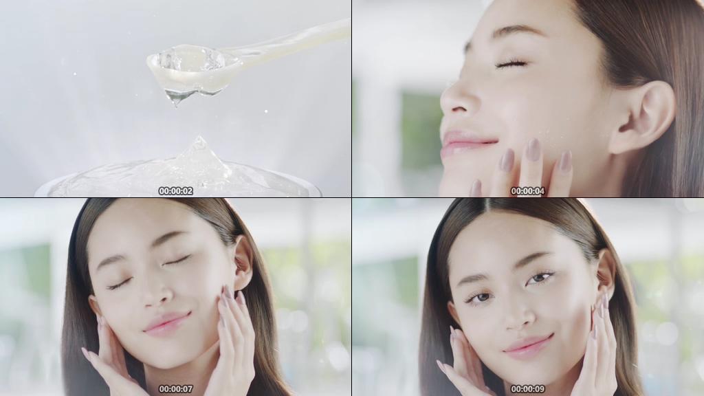 芦荟胶护肤视频素材