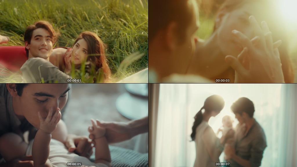 从恋爱到结婚生子视频素材