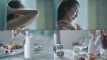 美女沐浴视频素材下载