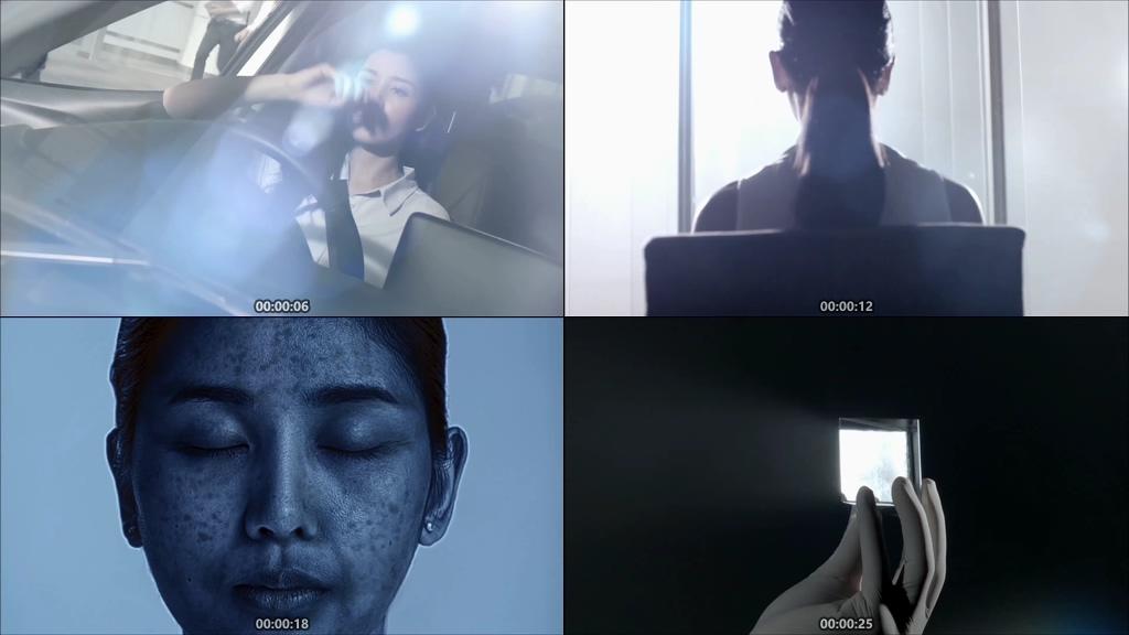 紫外线视频素材