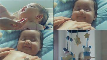 帮宝宝洗澡视频