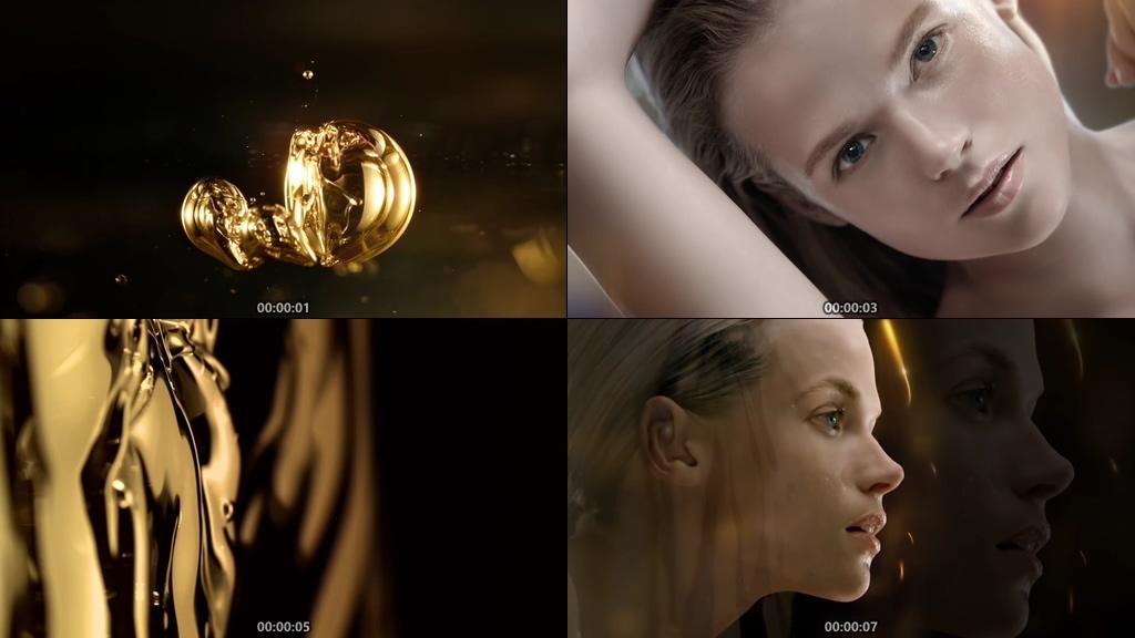 化妆品精华液视频素材
