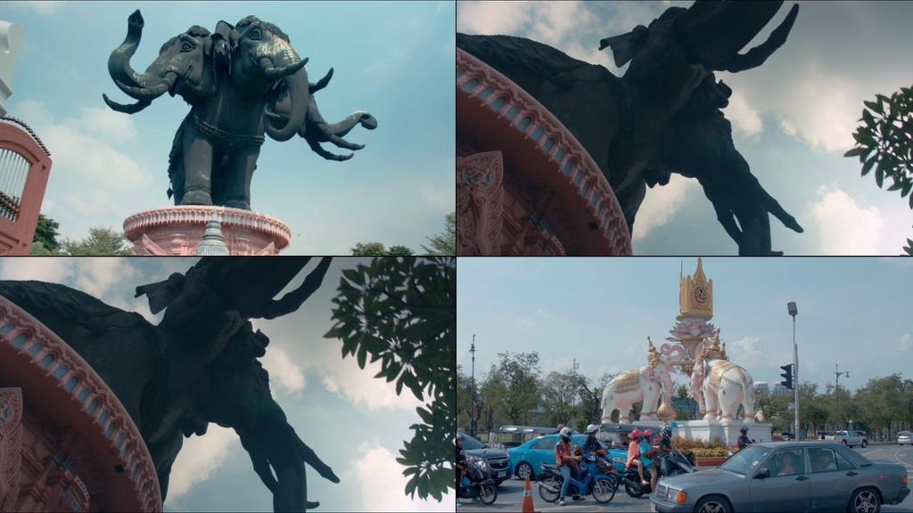 泰国标志大象视频素材