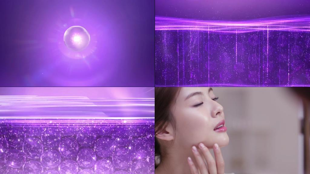 细胞修复化妆品特效动画
