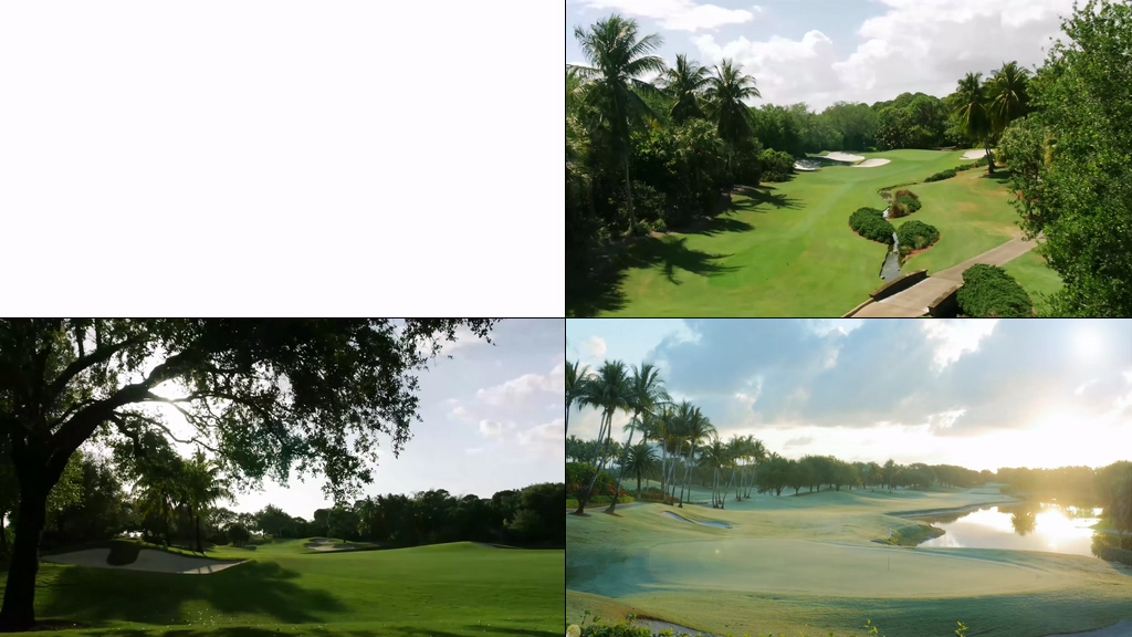 4K高尔夫俱乐部视频素材