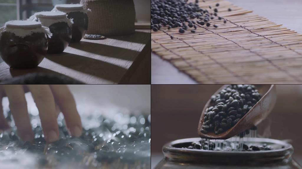 豆类精华化妆品视频素材