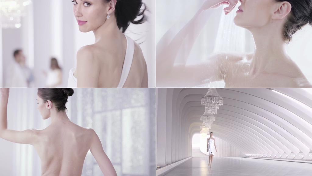 泰国气质美女视频素材