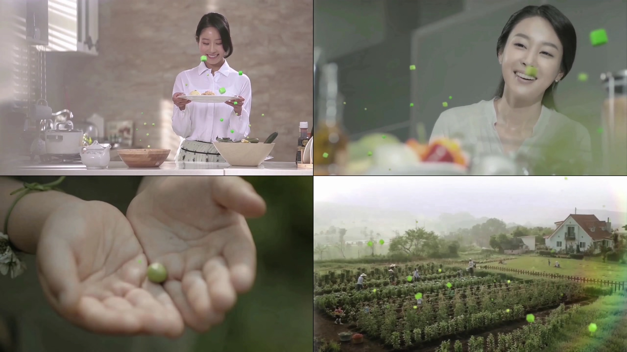 健康蔬菜视频素材