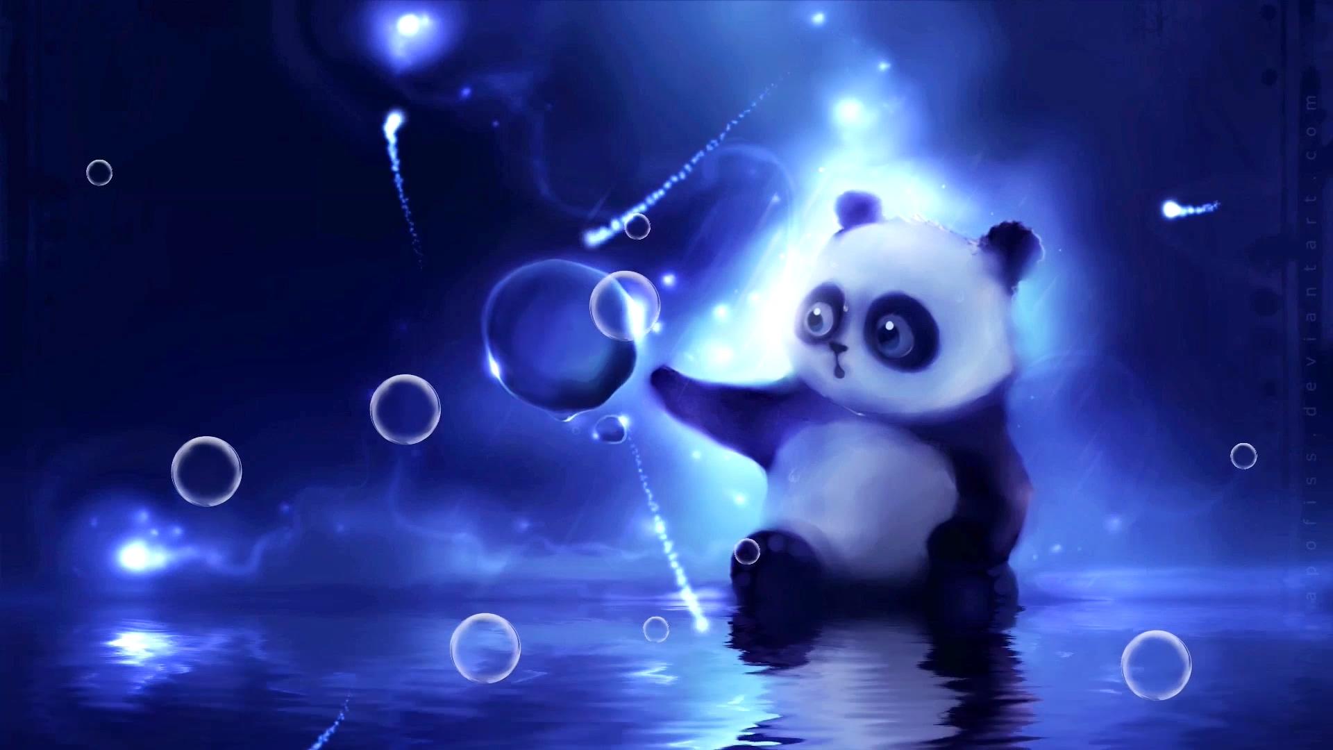 熊猫背景视频素材
