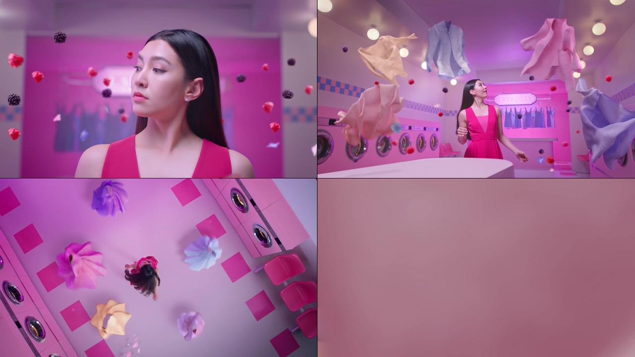 洗衣液洗衣粉视频素材