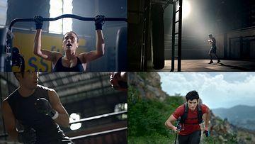 健身体育运动视频素材