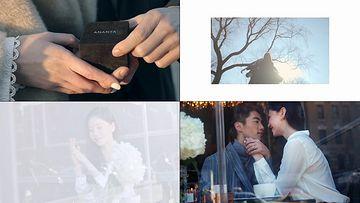 求婚视频素材