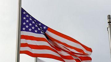 美国国旗视频素材