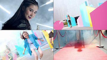 青春时尚的女孩视频素材
