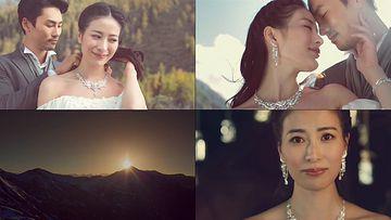 结婚珠宝戒指视频素材