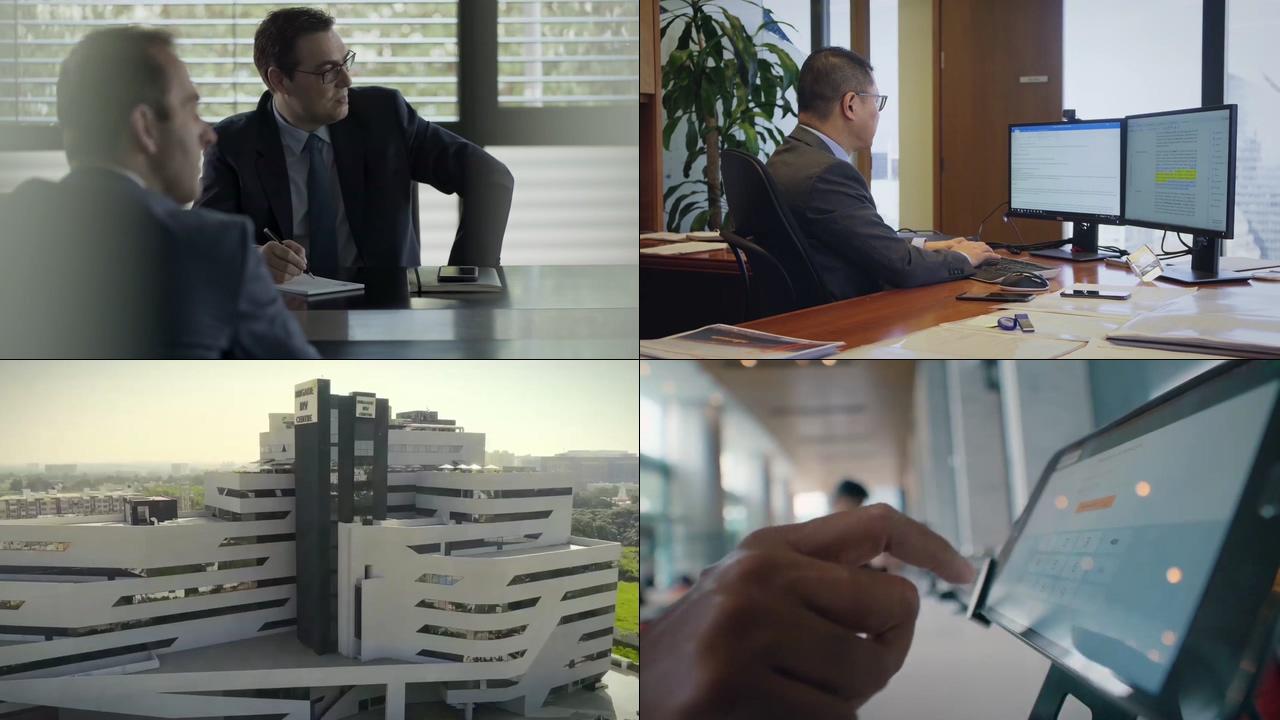 商务办公写字楼视频素材