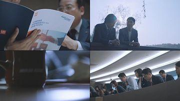 金融公司工作人员视频素材