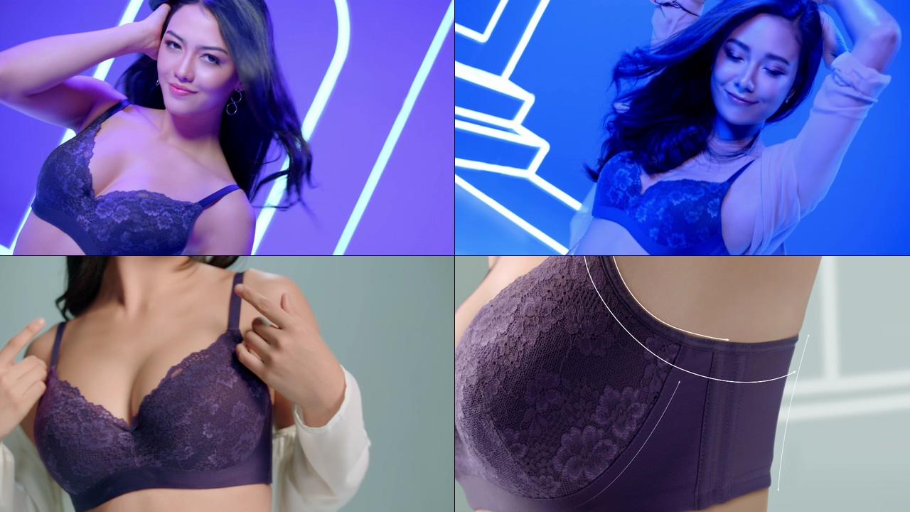 胸罩视频素材