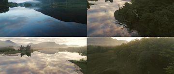4K苏格兰唯美风景视频素材