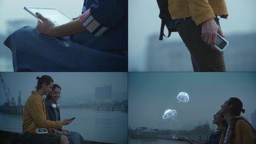 物联网增强现实视频素材