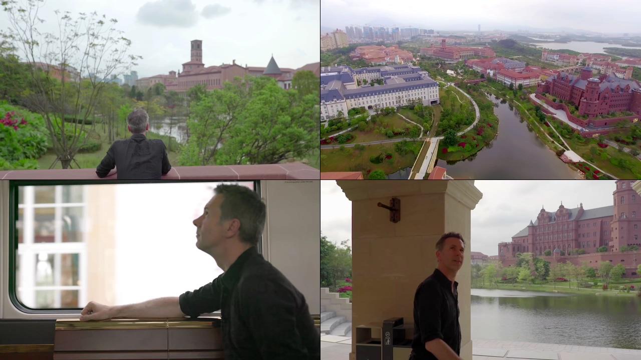 国外记者参观华为松山湖科技小镇