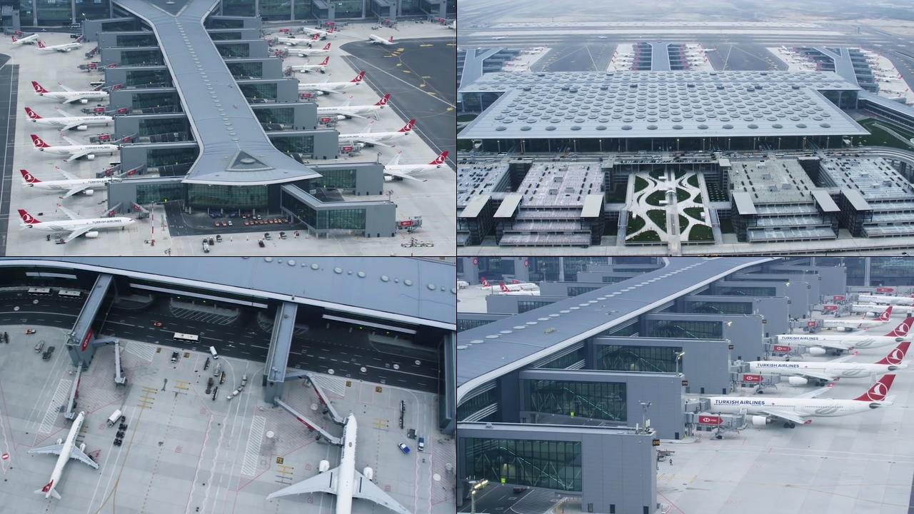 土耳其伊斯坦布尔机场视频