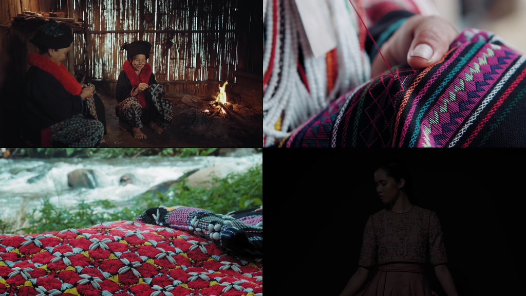 少数名族传统手艺制衣视频