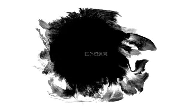 水墨通道视频素材009