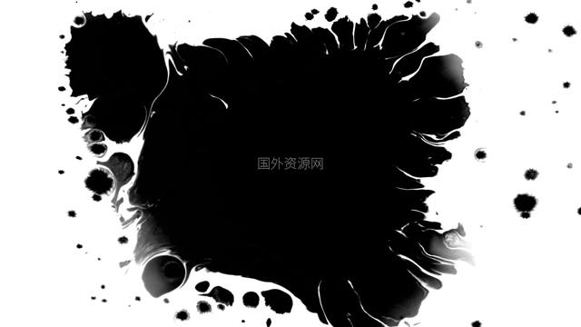 水墨通道视频素材011