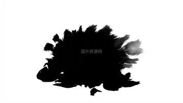 水墨通道视频素材49