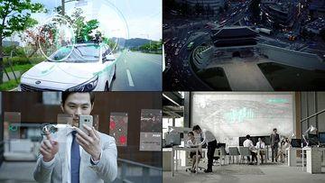 未来5G智能城市视频