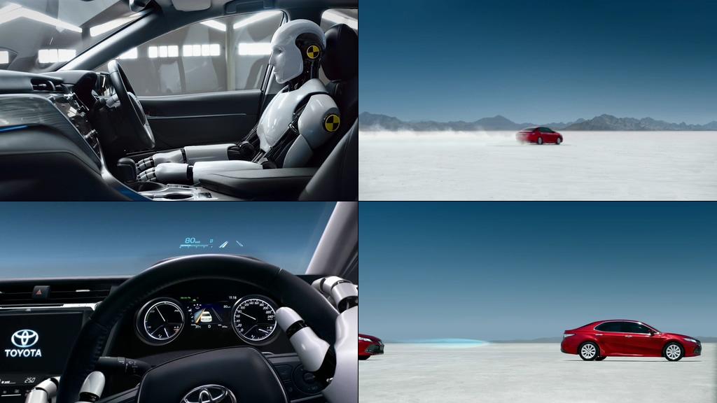 车载人工智能视频素材