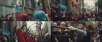 唐人街舞狮中国文化