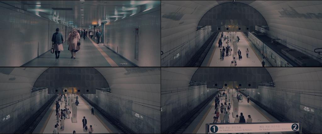 日本地铁视频素材