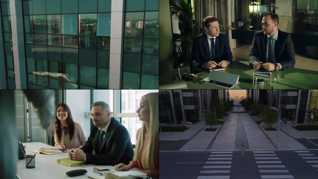 职场女性上班获客户认可