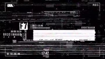 4K信号干扰视频素材07