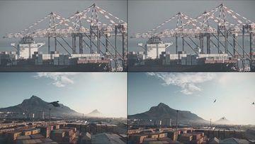 港口码头飞鸟视频