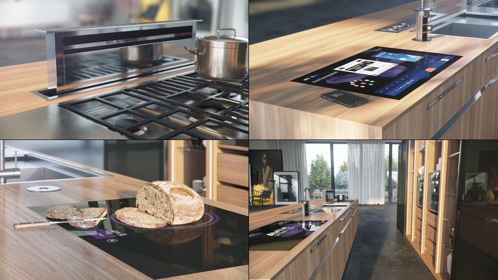 智能厨房视频素材