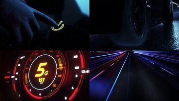 3D动画演示5G速度