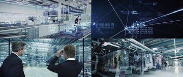 智能眼镜的运用视频素材