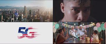 马来西亚5G建设视频素材