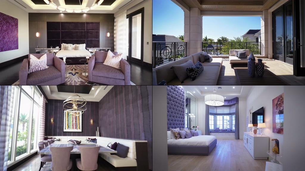 4K高端奢华建筑室内装修豪华别墅