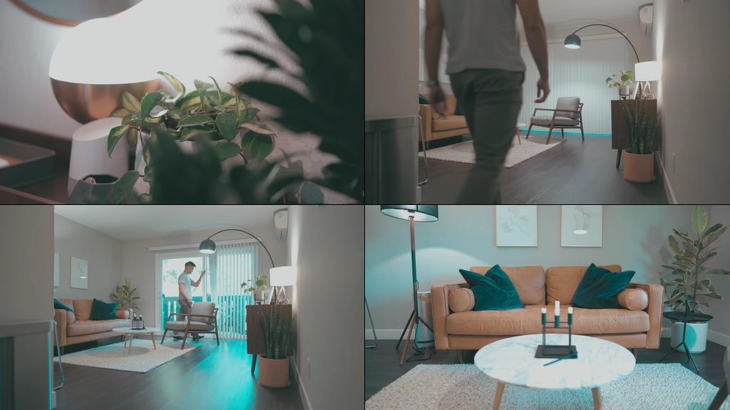 单身公寓视频素材