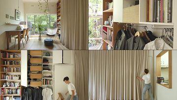 简约时尚的单身公寓视频素材
