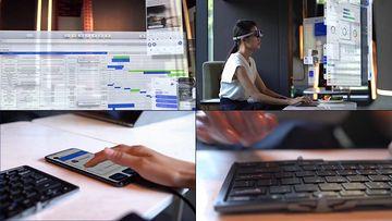 未来轻办公在线视频素材