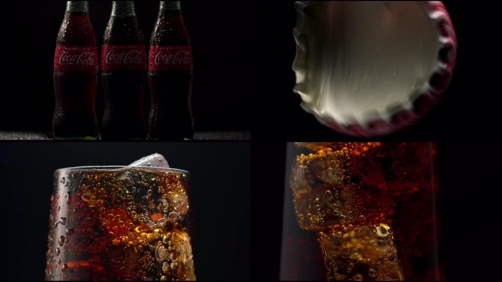 4K可口可乐视频素材
