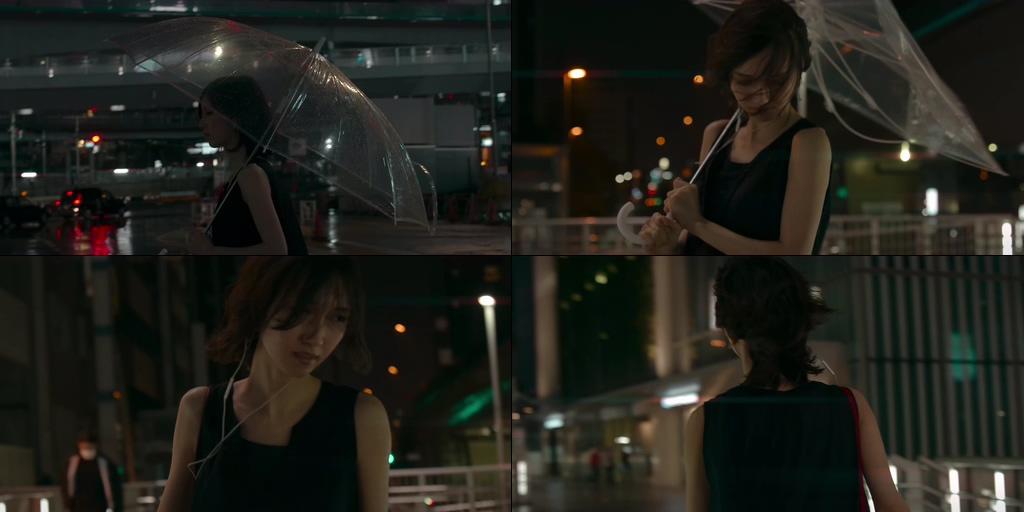 夜晚刮大风的下雨天失恋