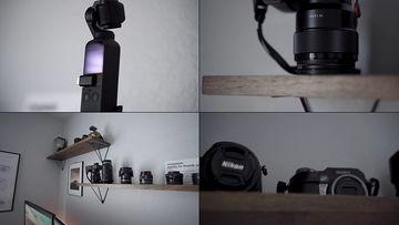 单反相机镜头视频素材