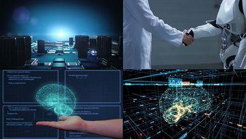 AI人工智能视频素材